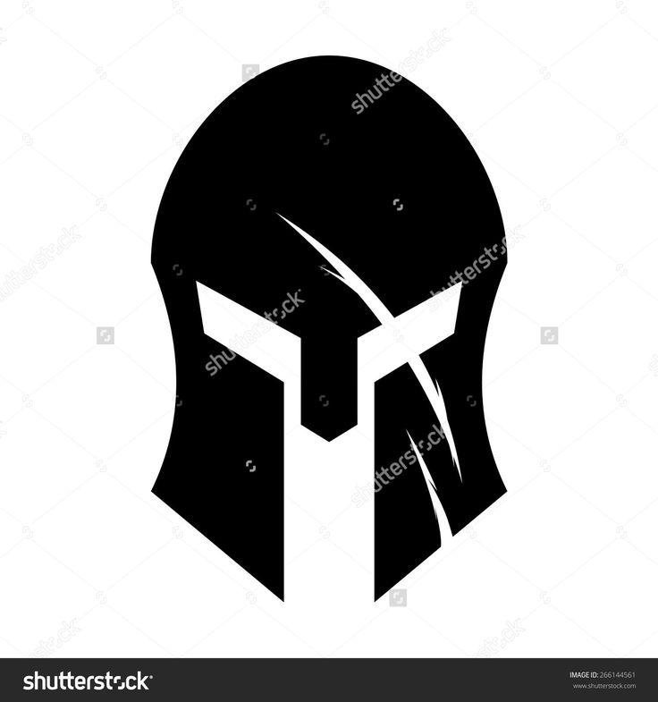 Stock vector spartan helmet 266144561jpg 1500x1600 for Spartan mask template