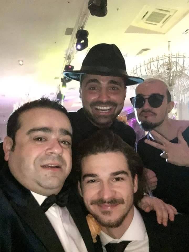 Adrian Minune, Pepe si Jimmy Dub  la majoratul fiicei cantaretului de muzica de petrecere, salon HO-LALA.