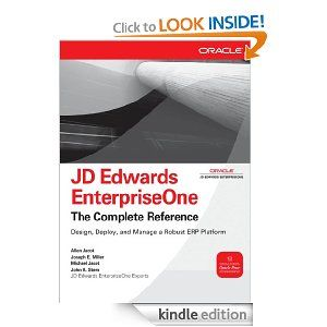 Amazon.com: JD Edwards EnterpriseOne : The Complete Reference (Osborne ORACLE Press Series) eBook: John Stern: Kindle Store