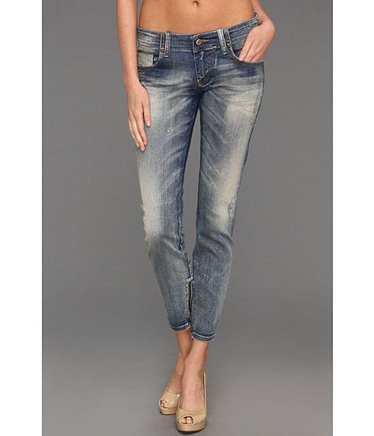 Womens Diesel Jeans Grupee - Zip 0809B Super Slim Skinny Authentic Made in Italy