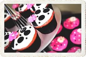 Cute for bridal shower cupcakes