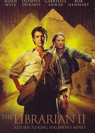 The Librarian: Return to King Solomon's Mines (2006)  From Movie Franchise to TV Series TNT's The Librarians Solves Mysteries, Recovers Artifacts and Fights Evil #FallTV #TheLibrarians #TNT [Video]  http://www.redcarpetreporttv.com/2014/12/04/from-movie-franchise-to-tv-series-tnts-the-librarians-solves-mysteries-recovers-artifacts-and-fights-evil-falltv-thelibrarians-tnt-video/
