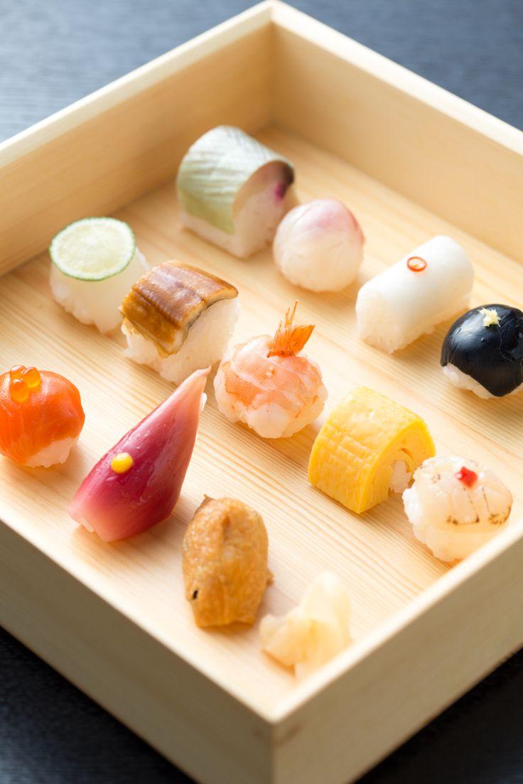 Japanese mame-sushi