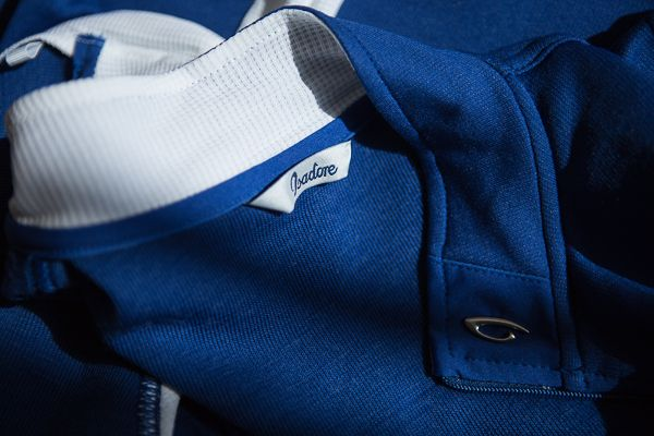 Isadore Apparel - Signature Jersey Limoges Blue - Combines timeless look with excellent temperature and odor control. #isadoreapparel #roadisthewayoflife #cyclingmemories
