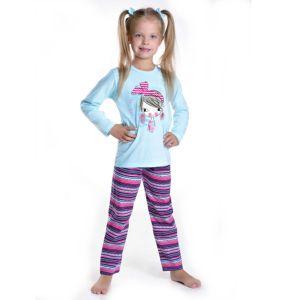 DeTaro kinderpyjama van Corazonkids blauw met opdruk heeft een leuke gestreepte broek. Bij de Taro kinderpyjama van CorazonKids is de broek opdruk met verschillende gestreepte motieven. De top heeft een leuke opdruk de Taro kinderpyjama van CorazonKids is van goede kwaliteit.