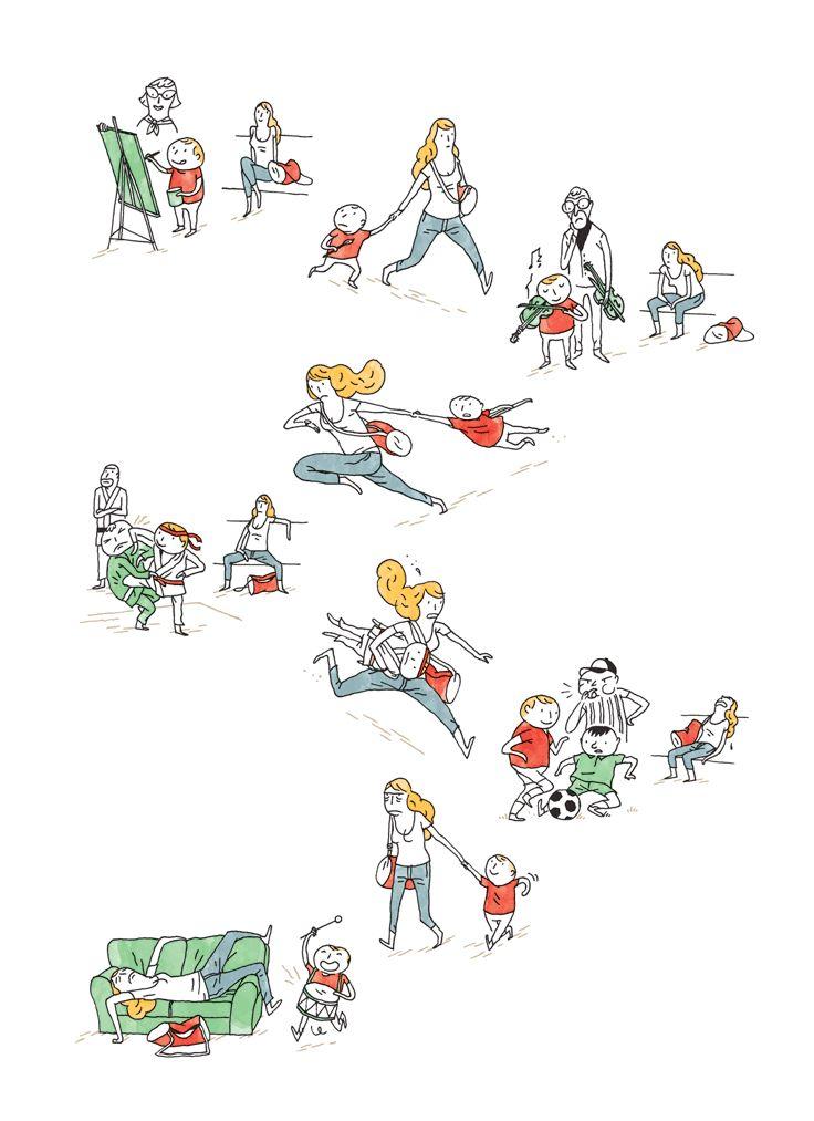 Doolittle Magazine | Children Activites by Quentin Vijoux.