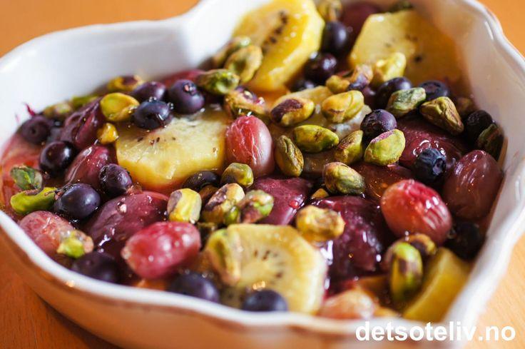 Ovnsbakt frukt | Det søte liv