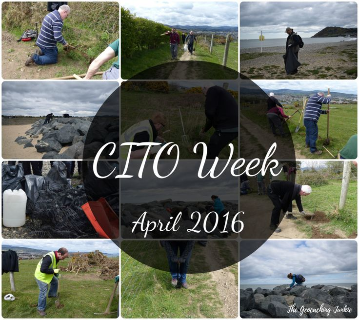 Do you even CITO? Read how I spent CITO week April 2016 in my geocaching blog!