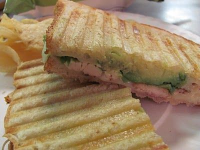 Better Than Burgers: Grilled Chicken Avocado Panini