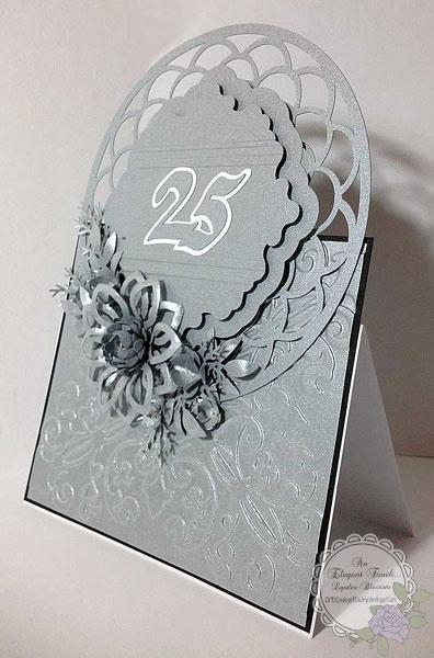 Открытка на годовщину свадьбы своими руками 25 лет, пальцами