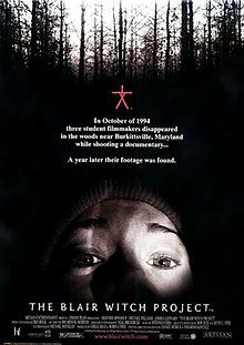 It's scarier than a horror movie: Disguised as a videography, this film gets its tricks (and treats) as three students (the leads playing themselves) setting out to find the truth about the legendary Blair Witch wind up vanished.