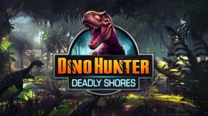 Dino Hunter: Deadly Shores is really good first person shooter that manages to be deep & satisfying thanks to nice gameplay experience & presentation. The energy bar works as you spend one energy point per regular hunt & 2 energy points in trophy hunts. Energy is refilled automatically & you can fully replenish it with gold. You'll gain XP points per each successful hunt & level up eventually. You start with only 2 types of hunts,
