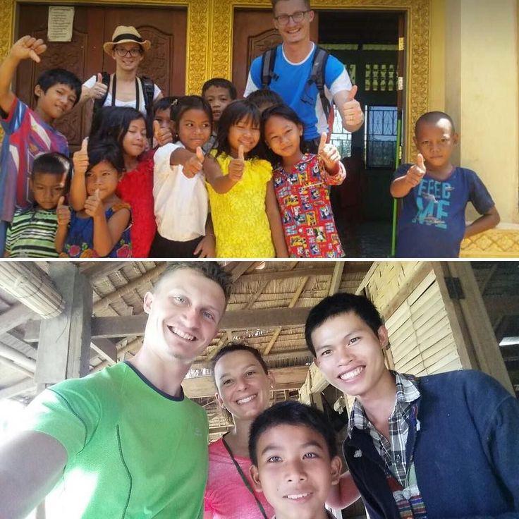I nostri viaggiatori Franco&Sara sperimentano il calore dell'accoglienza del Sud-Est Asiatico tantissimi sorrisi!  #smiling #benvenuti #laos #cambogia #particonnoi #touroperator #incontroautentico #travelgram #viaggiare #viaggio #sudestasiatico #turismoresponsabile #turismosostenibile new pics on Instagram