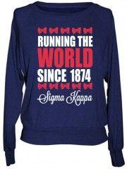 Custom Sigma Kappa Clothing & Apparel | Sigma Kappa Wear & Clothes