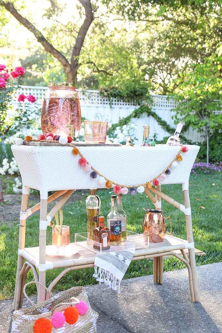 Summer Entertaining Ideas. Summer Party. Summer Patio Decorating IDeas
