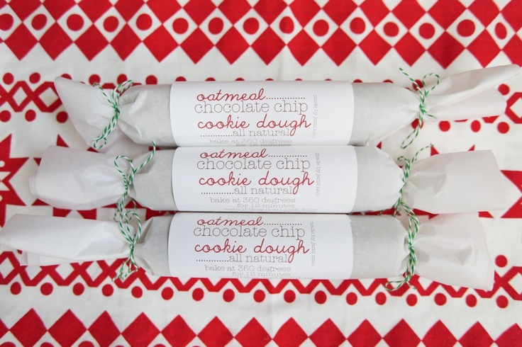 Homemade cookie dough to go with free printable labels. Great teacher gift idea or little appreciation gifts.