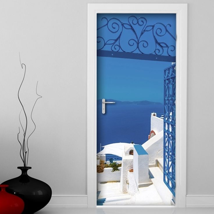 majestic dr who tardis door decal. Found it at Wayfair  Mykonos Door Decal 13 best cover images on Pinterest Sticker and Stickers