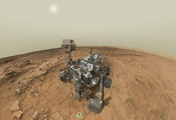 Martian Selfie! Self-Portrait of NASA's Mars Curiosity Rover