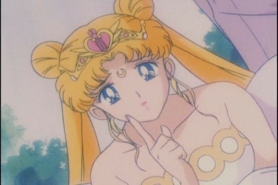 """Neo Queen Serenity from """"Sailor Moon"""" series by manga artist Naoko Takeuchi."""