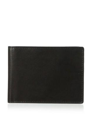 53% OFF Joseph Abboud Men's Antiqued Leather Passcase (Black)