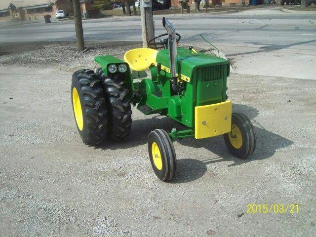 John Deere 110 Garden Tractor Attachments : Custom the little tractor co pinterest gardens