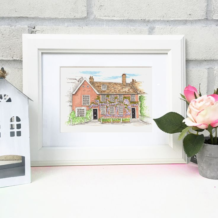 Personalised+Hand+Drawn+House+Illustration+(copy), £53.00