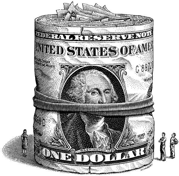 лента для картинки доллара карандашом наверное, стоит сказать