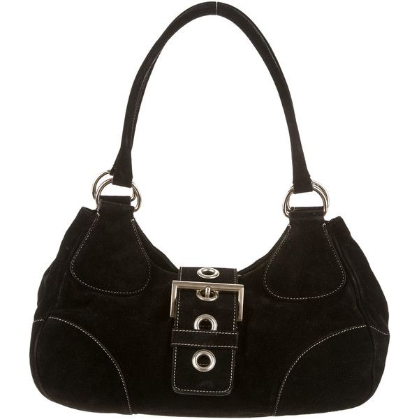 Pre-owned Prada Shoulder Bag (\u20ac240) ? liked on Polyvore featuring ...