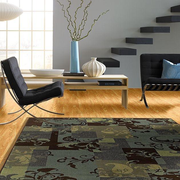 AreaRug Idyll - 3V732 - Blue - Flooring by Shaw