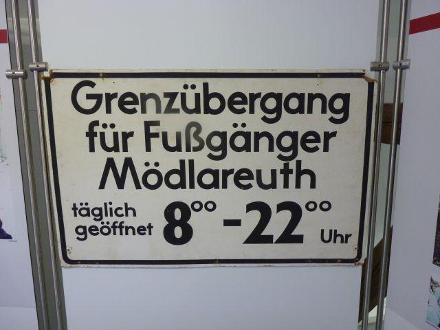 Mödlareuth Wer mehr wissen will: www.schwanfelder.org