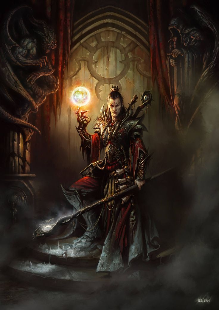 Wizard by Wei-Wang on deviantART
