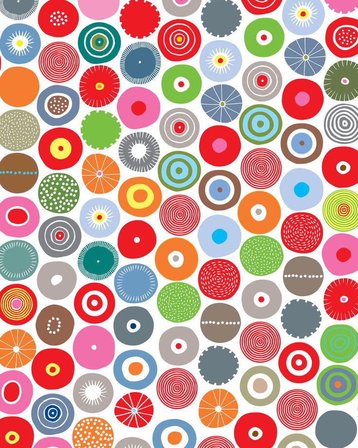 This pattern is very random and seems to have no structure to it. However i chose this piece as it really stood out to me with the random circles and patterns within the circles.
