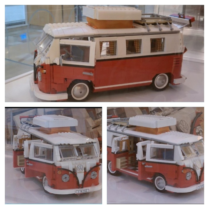 vw bus made out of lego 39 s autos combi y autos. Black Bedroom Furniture Sets. Home Design Ideas