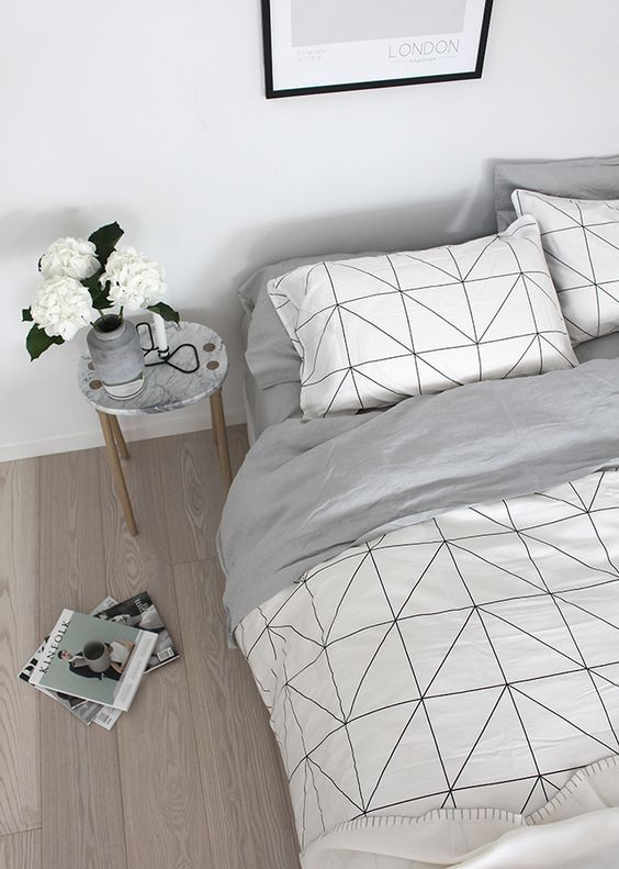 scandinavian bedroom - Google Search