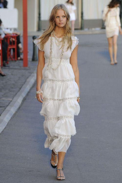 Crush Cul de Sac/ this dress is YOU!: Coco Chanel, Summer Dress, Fashion, Style, Wedding, Dresses, White Dress, Chanel Resort