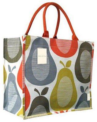 Mrs Peabod - A designers Inspiration board: Orla Kiely Charity Bag for Tesco