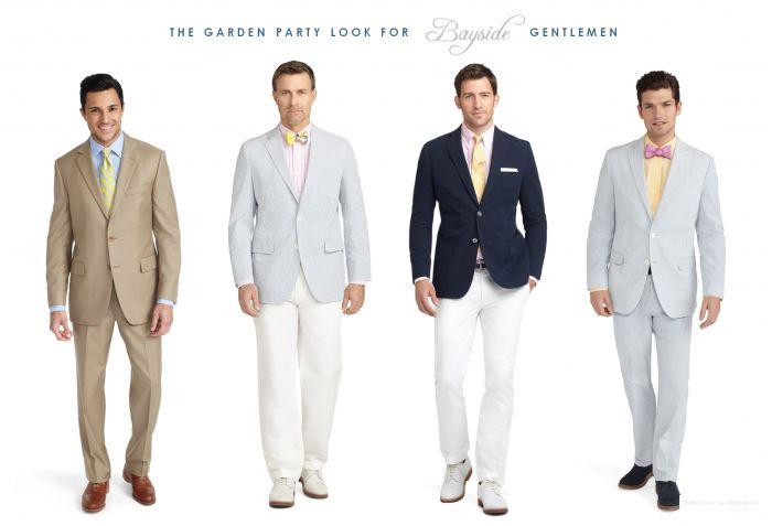 Garden Party Gentlemen Male Wedding Guest Attire Pinterest Seersucker Blazer Garden