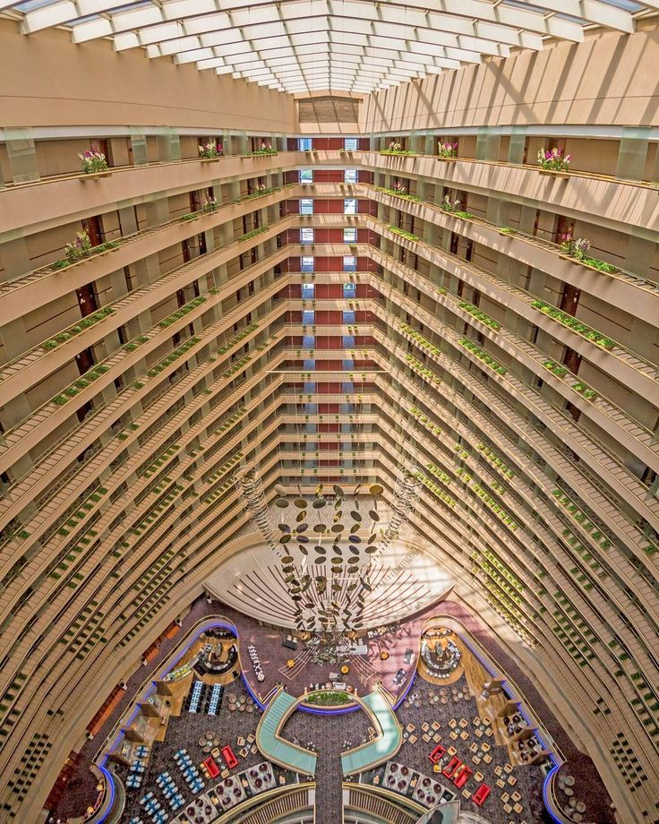 One of the biggest atrium in South East Asia.