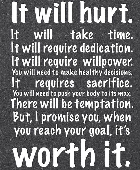Yep, this about sums up my past few weeks...but it will be worth it!: Fit Quotes, Goals, Remember This, Half Marathons, So True, Worthit, Weightloss, Worth It, Weights Loss