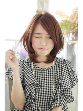 ひし形シルエットの大人気ヘアースタイル - 24時間いつでもWEB予約OK!ヘアスタイル10万点以上掲載!お気に入りの髪型、人気のヘアスタイルを探すならKirei Style[キレイスタイル]で。