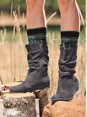 Bussola boots - one of our faves for being so cute and especially comfortable!