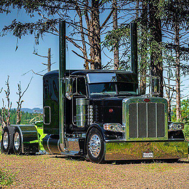 Peterbilt custom 389