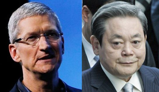 Tim Cook vs Lee Kun-hee – CEO-ul Apple si un infractor gratiat de 2 ori