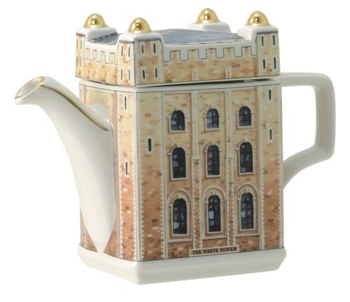 James Sadler Teapots - Tower of London - love it