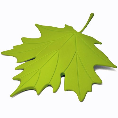 Qualy Green Autumn Leaf Door Stopper - All That I Need