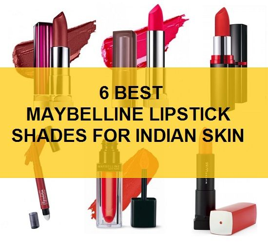6 Top Best Maybelline Lipstick shades for Indian skin, So, which are these lip color shades. Let's have a look at the best lipstick colors or shades for our Indian skin tone.