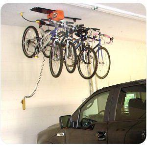 Lovely Garage Ceiling Storage | Garage Ceiling Storage Hoist BICYCLE SYSTEM