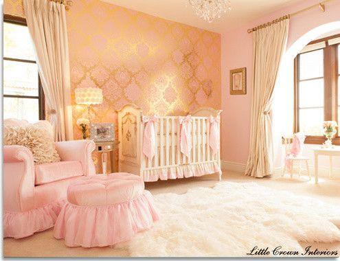 25 Best Ideas About Peach Baby Nursery On Pinterest