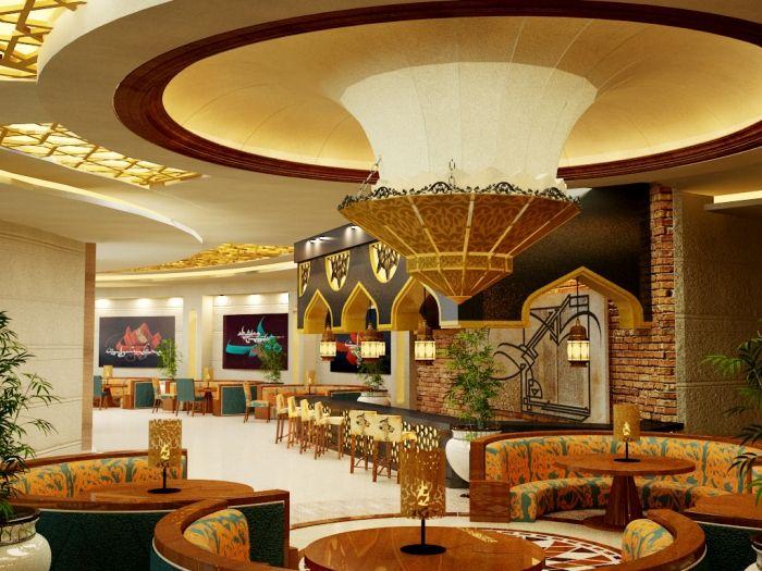 Restaurant Design Proposal : Best arabic interior images on pinterest proposal