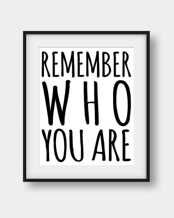 50% OFF our Regular Price.  Remember Who You Are, The Lion King Quote, Printable Wall Art.  If you want any change to be made just send us an e-mail before you purchase anything and we will create a custom order for you.  You will get digital high resolution .jpgs (300 dots per inch) in all of the following sizes:  1) 4 X 6 2) 5 X 7 3) 8 X 10 4) 11 X 14 5) 16 X 20  ALL of the 5 sizes above are included for the price of one. Use different sizes to create unique Art Walls.  This listing is…